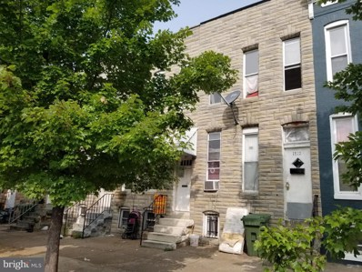 1814 Wilkens Avenue, Baltimore, MD 21223 - #: MDBA539214