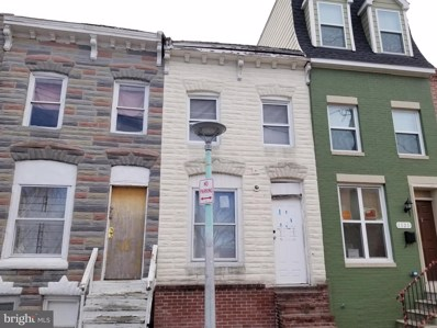 1119 Ward Street, Baltimore, MD 21230 - #: MDBA539448