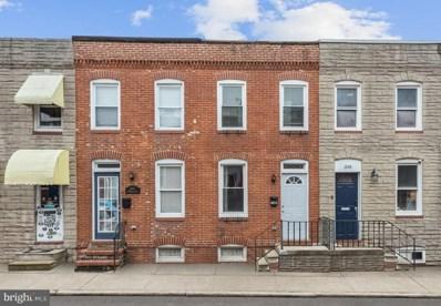 1608 Marshall Street, Baltimore, MD 21230 - MLS#: MDBA539842