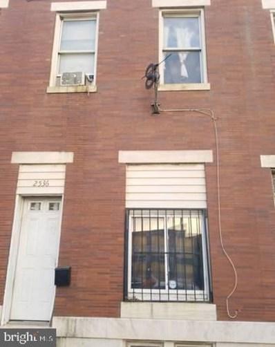 2536 Wilkens Avenue, Baltimore, MD 21223 - #: MDBA540128
