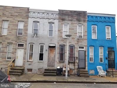 1937 Christian Street, Baltimore, MD 21223 - #: MDBA540184