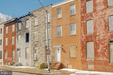 336 S Stricker Street, Baltimore, MD 21223 - #: MDBA540222