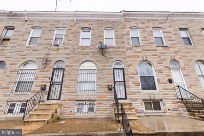 2650 Wilkens Avenue, Baltimore, MD 21223 - #: MDBA540286