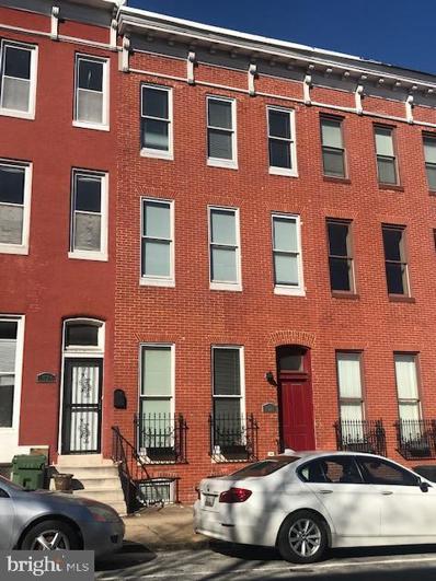 1528 E Biddle Street, Baltimore, MD 21213 - #: MDBA540360
