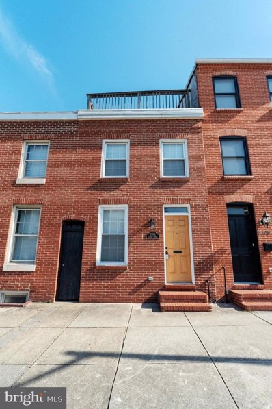 3106 Elliott Street, Baltimore, MD 21224 - #: MDBA540454