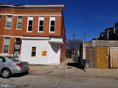 1900 W Saratoga Street, Baltimore, MD 21223 - #: MDBA540476