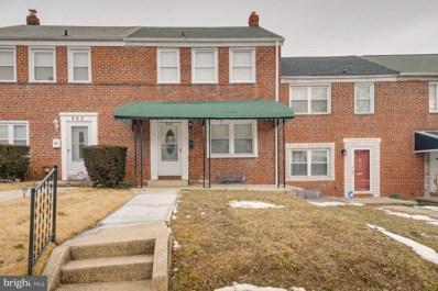 864 Benninghaus Road, Baltimore, MD 21212 - #: MDBA540556