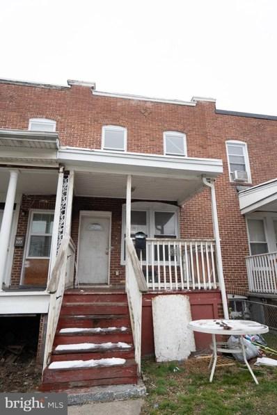 539 S Longwood Street, Baltimore, MD 21223 - #: MDBA540586