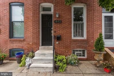 1442 Towson Street, Baltimore, MD 21230 - #: MDBA540688