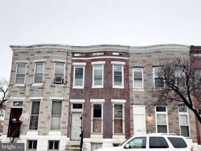1813 Mosher Street, Baltimore, MD 21217 - #: MDBA541100
