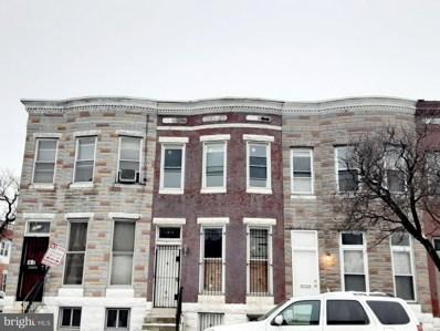 1813 Mosher Street, Baltimore, MD 21217 - #: MDBA541100