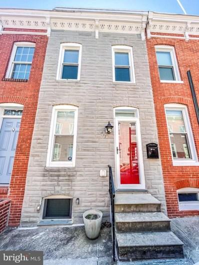 417 Sanders Street, Baltimore, MD 21230 - #: MDBA541104