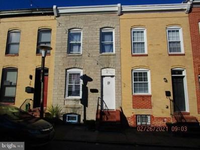 22 N Curley Street, Baltimore, MD 21224 - #: MDBA541540