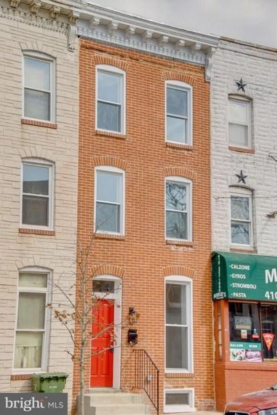208 E Fort Avenue, Baltimore, MD 21230 - #: MDBA541628