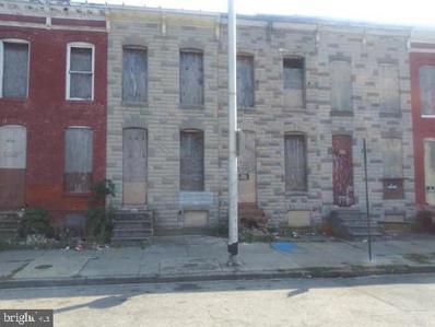 1931 Ramsay Street, Baltimore, MD 21223 - #: MDBA541810