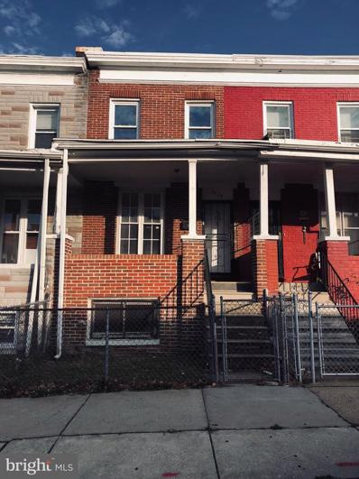 2528 Lauretta Avenue, Baltimore, MD 21223 - #: MDBA541952
