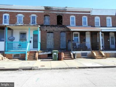 629 S Pulaski Street, Baltimore, MD 21223 - #: MDBA542532