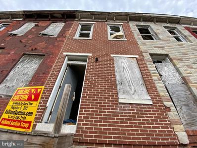 1816 Wilhelm Street, Baltimore, MD 21223 - #: MDBA542782
