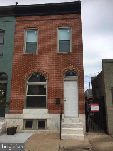 2318 Ashland Avenue, Baltimore, MD 21205 - #: MDBA542982