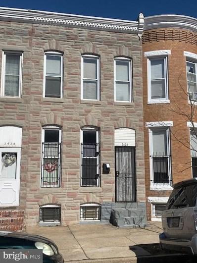 2430 E Lafayette Avenue, Baltimore, MD 21213 - #: MDBA543538