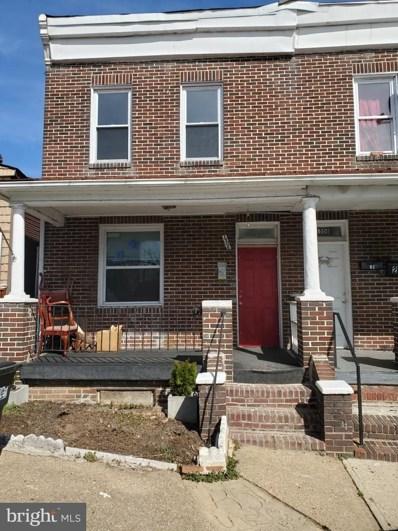 1506 Hazel Street, Baltimore City, MD 21226 - #: MDBA543594