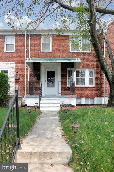 1526 Winford Road, Baltimore, MD 21239 - #: MDBA543652