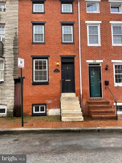 41 E Wheeling Street, Baltimore, MD 21230 - #: MDBA543724