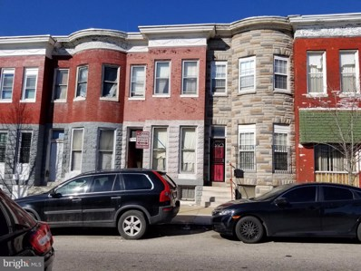 1734 N Monroe Street, Baltimore, MD 21217 - #: MDBA544046