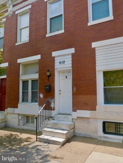 610 N Kenwood Avenue, Baltimore, MD 21205 - #: MDBA544394