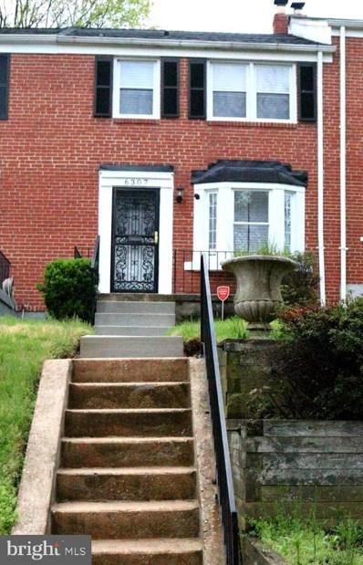 6307 Leith Walk, Baltimore, MD 21239 - #: MDBA544450