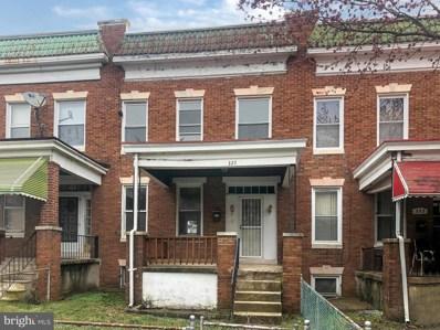 327 Lyndhurst Street, Baltimore, MD 21229 - #: MDBA544462