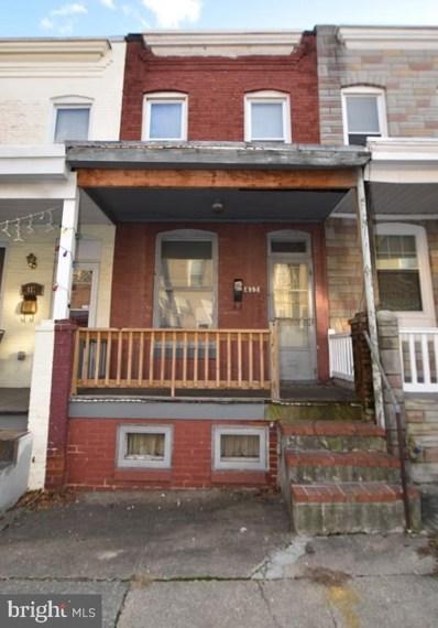 413 Fawcett Street, Baltimore, MD 21211 - #: MDBA544632