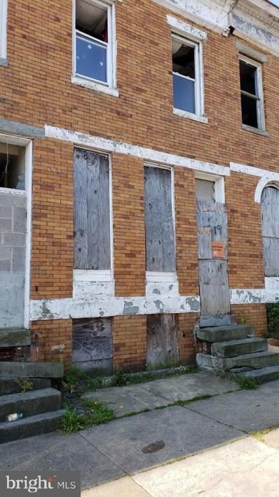 1919 Walbrook Avenue, Baltimore, MD 21217 - #: MDBA544724