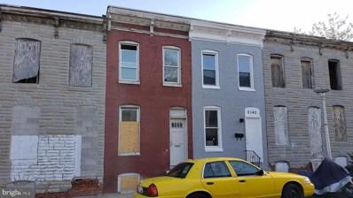 2144 Vine Street, Baltimore, MD 21223 - #: MDBA544752