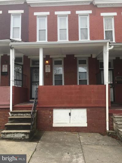 102 N Smallwood Street, Baltimore, MD 21223 - #: MDBA544838