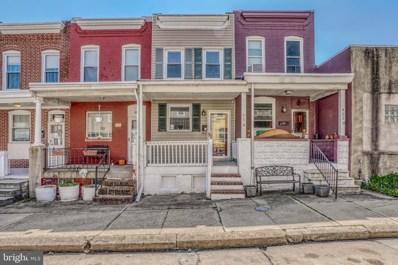 421 Fawcett Street, Baltimore, MD 21211 - #: MDBA544870