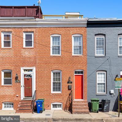 844 Mangold Street, Baltimore, MD 21230 - #: MDBA544892