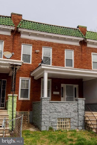 4903 Queensberry Avenue, Baltimore, MD 21215 - #: MDBA544958