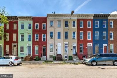 828 N Stricker Street, Baltimore, MD 21217 - #: MDBA545038