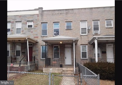 638 E Patapsco Avenue, Baltimore, MD 21225 - #: MDBA545060