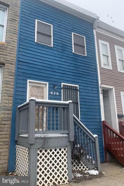 636 S Monroe Street, Baltimore, MD 21223 - #: MDBA545094