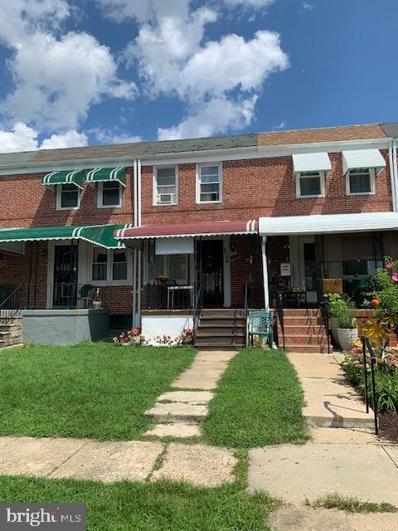 1109 N Wheeler Avenue, Baltimore, MD 21216 - #: MDBA545136