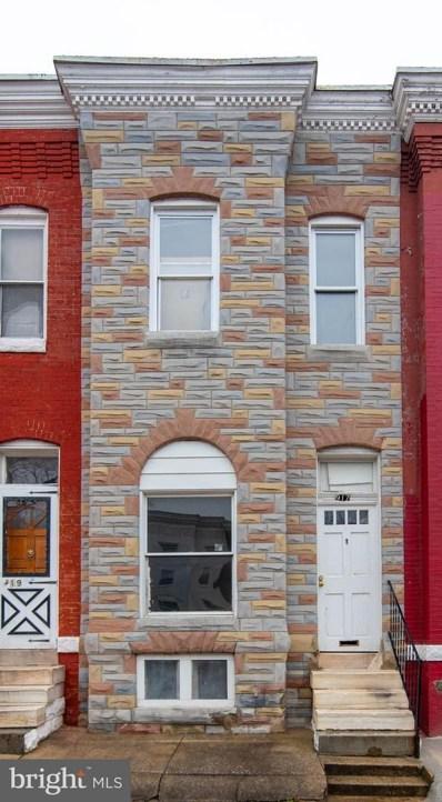 917 Appleton Street, Baltimore, MD 21217 - #: MDBA545220
