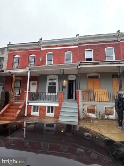 2156 Hollins Street, Baltimore, MD 21223 - #: MDBA545260