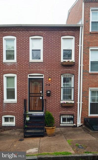318 S Poppleton Street, Baltimore, MD 21230 - #: MDBA545344