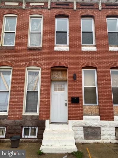 1831 Aisquith Street, Baltimore, MD 21202 - #: MDBA545348