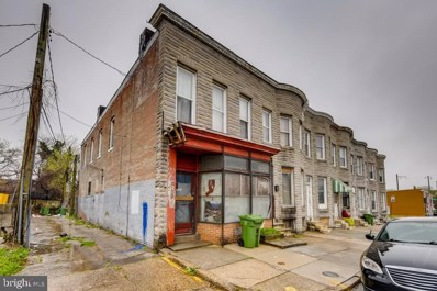 1901 Riggs Avenue, Baltimore, MD 21217 - #: MDBA545350