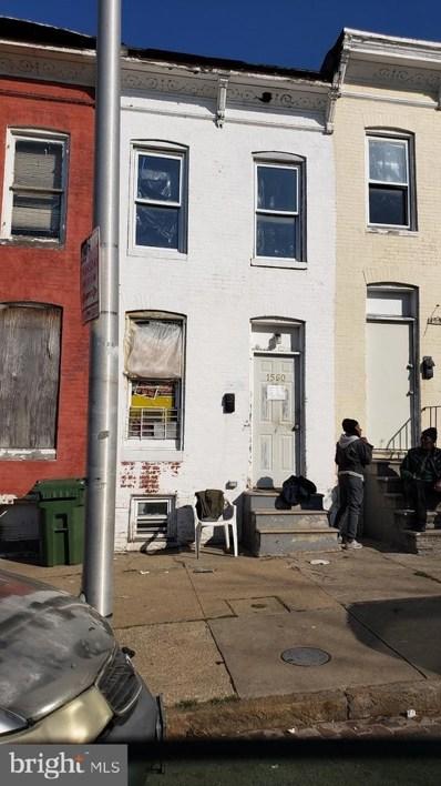 1560 Clifton Avenue, Baltimore, MD 21217 - #: MDBA545384