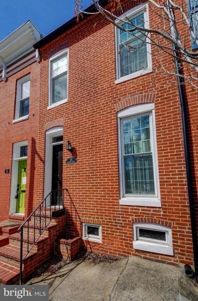 24 Poultney Street, Baltimore, MD 21230 - #: MDBA545548