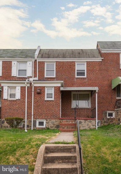 2712 N Longwood Street, Baltimore, MD 21216 - #: MDBA545602